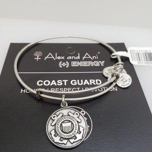 NWT Alex and Ani Coast Guard Bangle